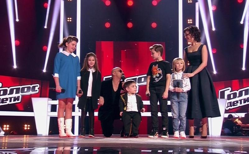 Победитель в конкурсе дети голос